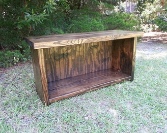 Rustic Mudroom Bench - Boot Bench - Shoe Bench