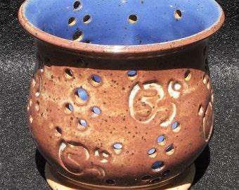 Om Symbol Candle Holder