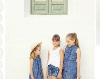 Girl in blue dress... Summer dress... Tunic dress...