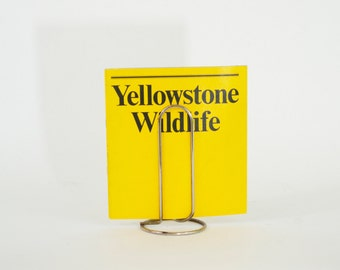 1972 Yellowstone Wildlife Photography Booklet