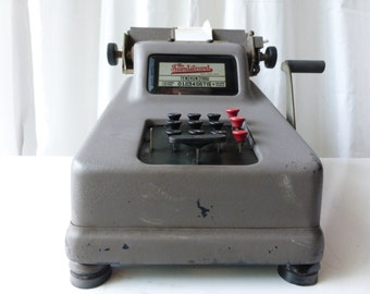 Vintage 1923 Sundstrand Adding Machine! From Rockford, Il.