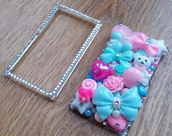 MADE TO ORDER - Hand Decorated Decoden iPod Nano 7th Generation Case