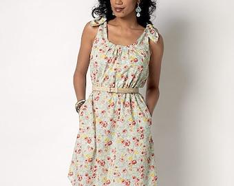 Butterick Sewing Pattern B6205 Misses' Shoulder-Tie Dresses