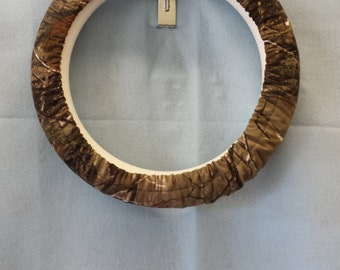Real Tree Camo Steering Wheel Cover