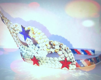 Patriotic Crown - Independance Day - 4th July