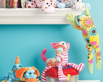 McCall's Pattern M6485 Stuffed Animals