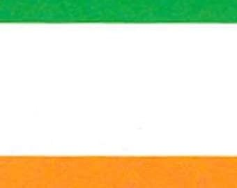 Flag of Ireland Handcrafted Applique Garden Flag