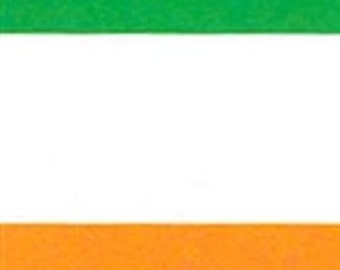 Flag of Ireland Handcrafted Applique House Flag