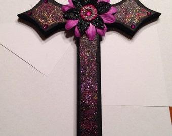Glory to God wooden cross