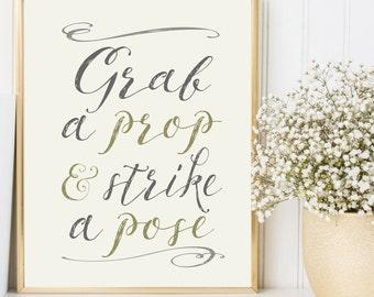 Photo Booth Sign / Wedding Photo Booth Sign / Wedding Photo Booth Printable / Wedding Printable INSTANT DOWNLOAD