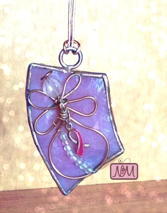 Pink Breast Cancer Art Glass Awards -