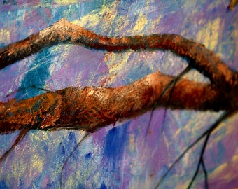 Layered Tree Branch