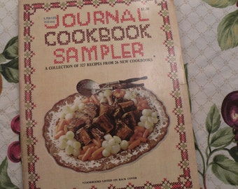 Ladies Home Journal ookbook Sampler 1968 A Collection of 327 Recipes from 26 New Cookbooks