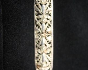 filligrain broche, silver 800