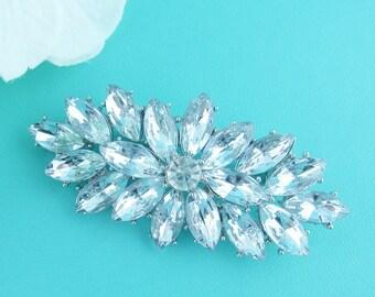 Rhinestone Brooch, Wedding Brooch, Bridal Brooch, wedding brooches, wedding dress pin, bridal dress brooch, wedding accessories, 235940498
