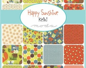 SALE! Happy Sunshine Jelly Roll by Keiki for Moda