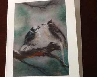 Beautiful Bird Greeting Card, Perfect for special occasions, sympathy, get well, miss you and many more