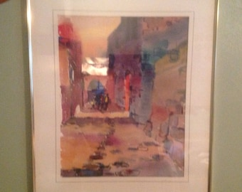 Items Similar To Vintage 1940 S Turner Color Lithograph Of