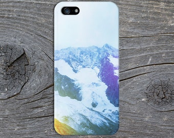 Colorful Snowcapped Mountains x Contrast Case for iPhone 6 6 Plus iPhone 7  Samsung Galaxy s8 edge s6 and Note 5  S8 Plus Phone Case