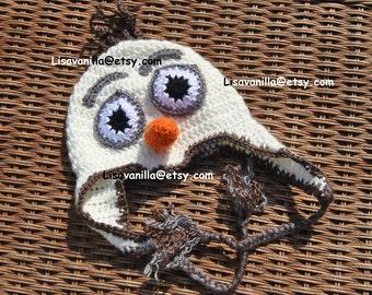 Olaf Crochet Hat Pattern