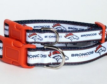 Broncos Dog Collar