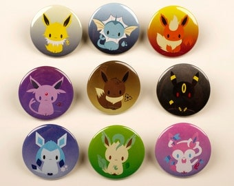 Eeveelution Pins