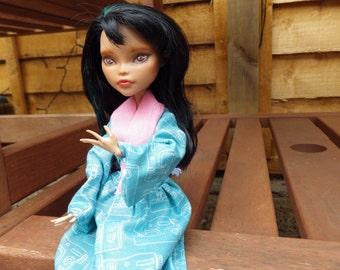 Monster high doll ~ custom repaint ~ Cleo