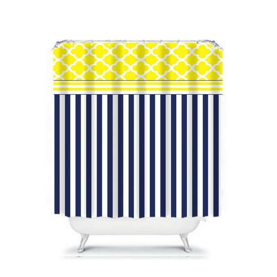 Navy Blue And Yellow Curtains: Unavailable Listing On Etsy