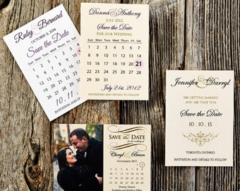 Save the Date - Custom Cards