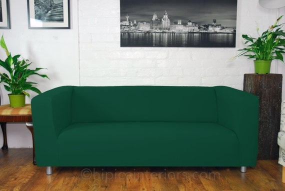 Ikea klippan sofa covers in many different colours easy to for Housse sofa ikea