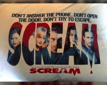 Scream Inspired Pillowcase
