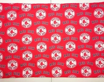 1 Set- Boston Red Sox- Cotton Pillowcases.