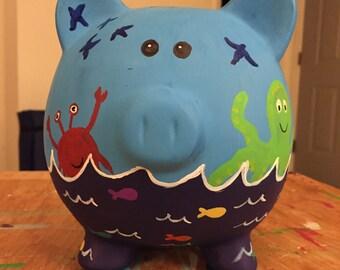 Nautical Piggy Bank