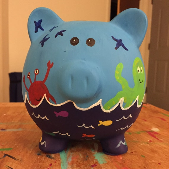 Nautical piggy bank - Nautical piggy banks ...