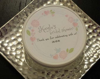 Country Custom Wedding Favor. Perfect for weddings,showers, birthdays, and graduations. Set of 25.