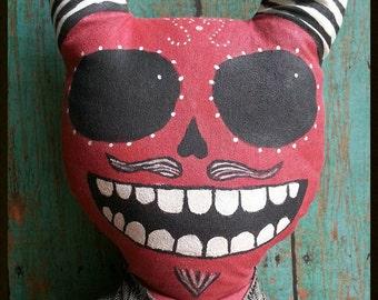 Sugar Skull- Day of the Dead Mexican Devil Calaca doll