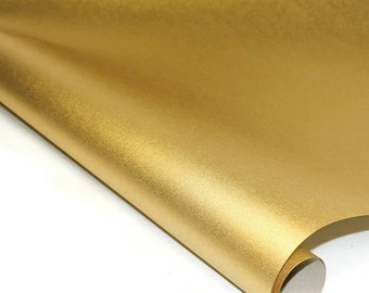 Metallic Mulberry Paper - Glimmering Gold