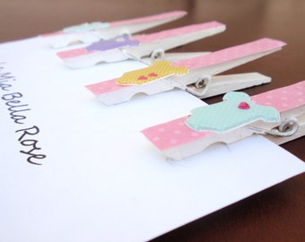 baby shower clothespins it 39 s a girl decorated by lamiabellarose