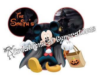 Disney Cruise Door Decoration Magnet ~ Halloween Mickey
