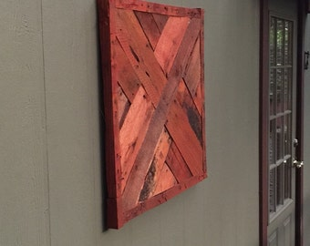 Decorative Wall Hanging, Wall Art, Pallet Wood,