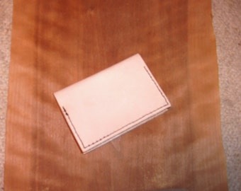 Leather Memo Pad Cover