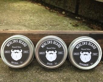 Merlin's Beard 3 Wax - Beard Care Kit