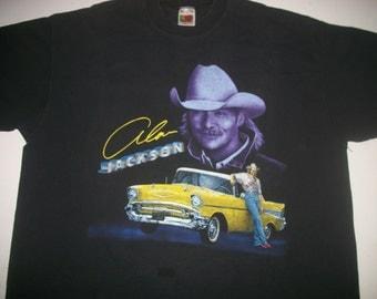 ALAN JACKSON tour t shirt 1996