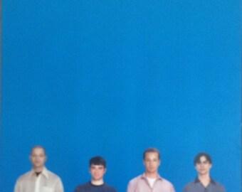 Weezer Poster The Blue Album  23 x 35 1990's British