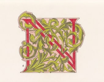 Monogram Initial N