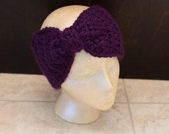 Crochet Turban Headband, Turban Headband, Crochet Ear warmer, Crochet Turban Ear Warmer, Headband, Winter Headband, Chunky Headband