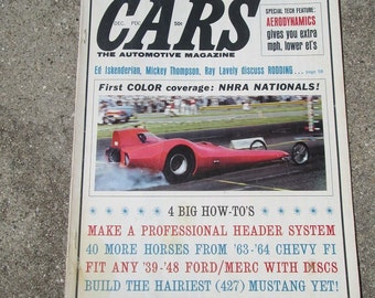 December 1964 Cars the Automotive Magazine