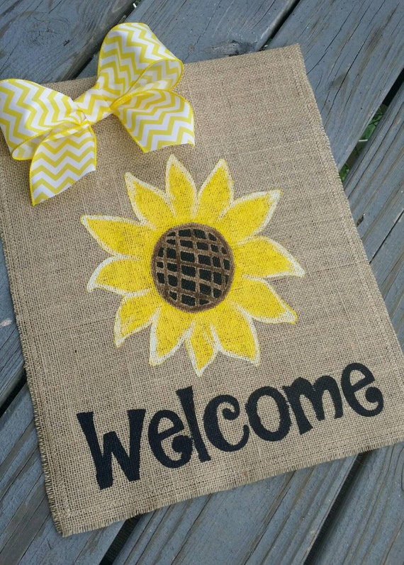 Sunflower decor fall outdoor decor outdoor garden decorations