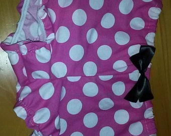 minnie mouse inspired shorts