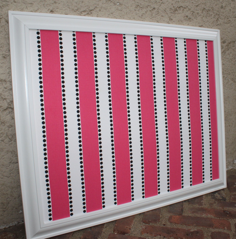 Decorative Framed Cork Board Or Framed By Designsbyemmapaige